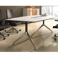 Potenza Boardroom Table 2.4m White