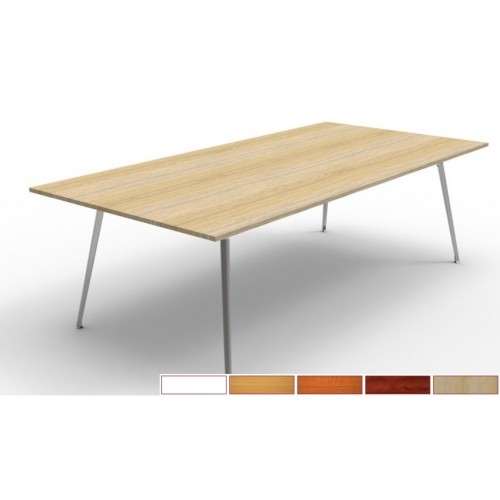 Rapid Air Boardroom Table 2.4m AVAILABLE IN CHOICE OF 5 COLOURS