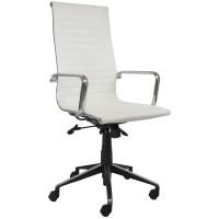 Eames Replica Office Chair White High Back