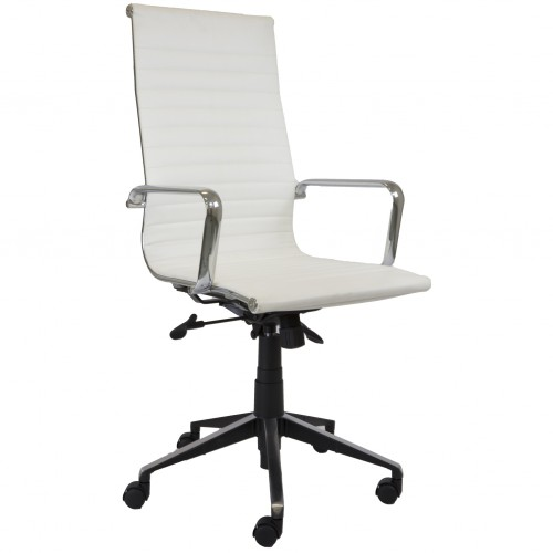 Eames Replica Office Chair White High Back