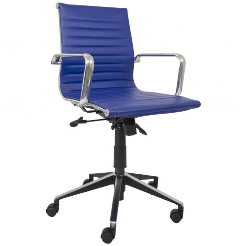 Eames Replica Office Chair Navy Med Back