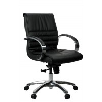 Franklin Executive Chair - Medium Back Leather