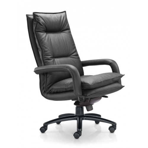 Bliss Leather and Feather Executive Chair