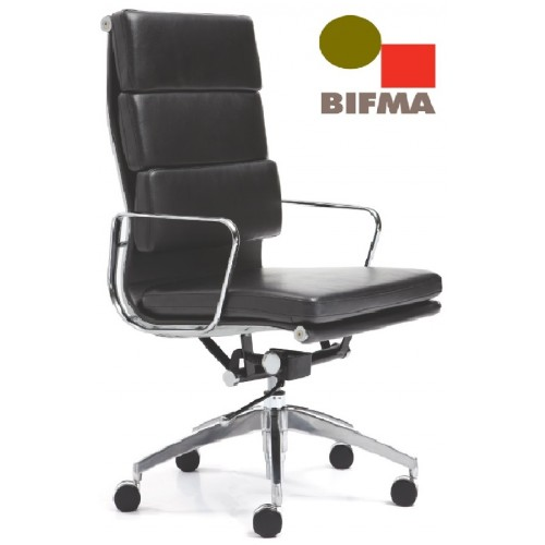 Manta Leather or PU Executive Chair High Back