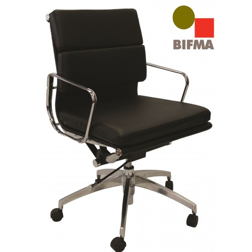 Manta Leather Executive Chair Med Back