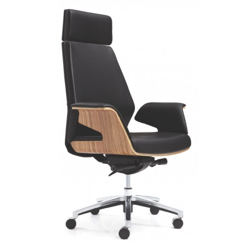 Novara Executive V Chair - High Back Leather