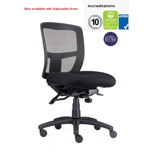 Ergo Chair - Mesh Back 165kg  Weight Rating