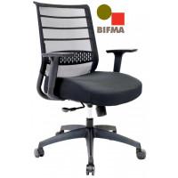 Onyx Mesh Chair - Med Back