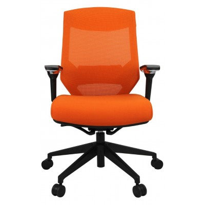 Vogue Executive Chair -  Nylon Base Mid Back Mesh Ergonomic