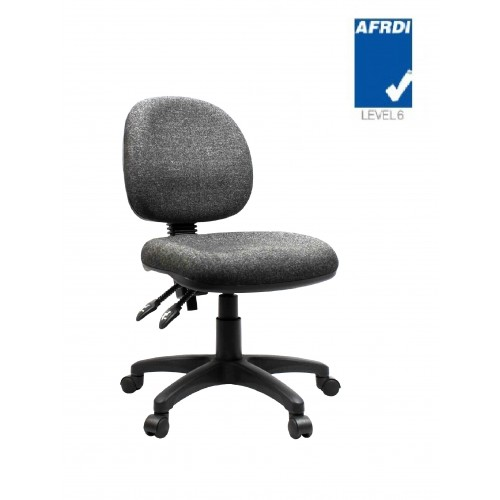 Works 1 Task Chair - Medium Back Two Lever AFRDI