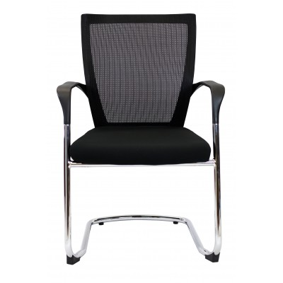 Spencer Visitor Chair -  Mesh Back Fabric Seat