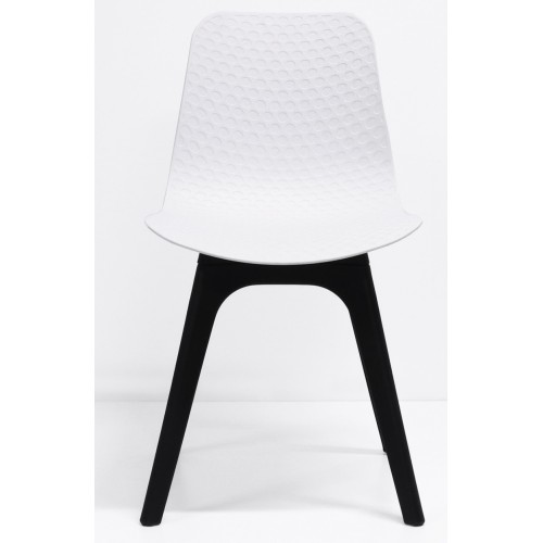 Lucid Visitor Chair with Black  Base