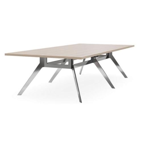 Delta Nouveau Double Frame Boardroom Table