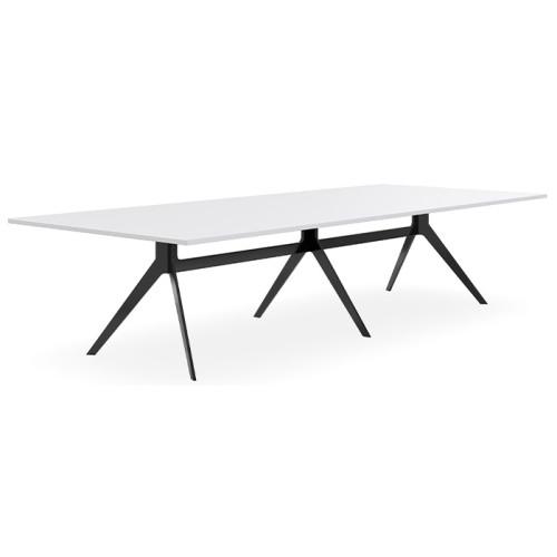Delta Nouveau Triple Single Frame Boardroom Table