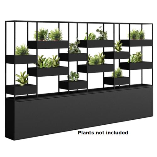 Offset Vertical Garden
