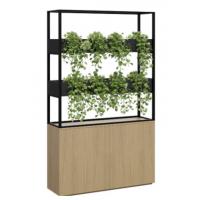 Cafe Vertical Garden with Storage Cupboard