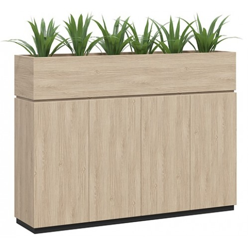 Willow Planter with Storage