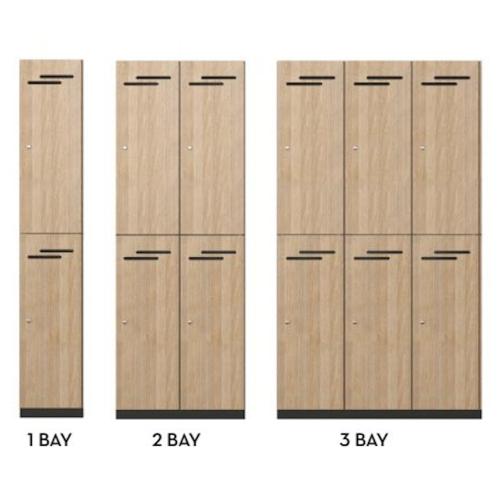 Lockers 2 Door HUGE CHOICE OF COLOURS