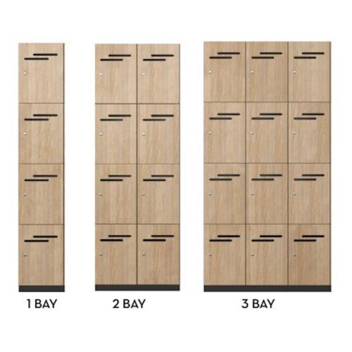 Lockers 4 Door HUGE CHOICE OF COLOURS