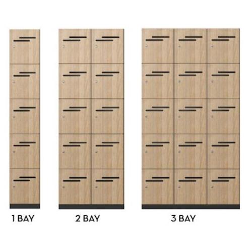Lockers 5 Door HUGE CHOICE OF COLOURS