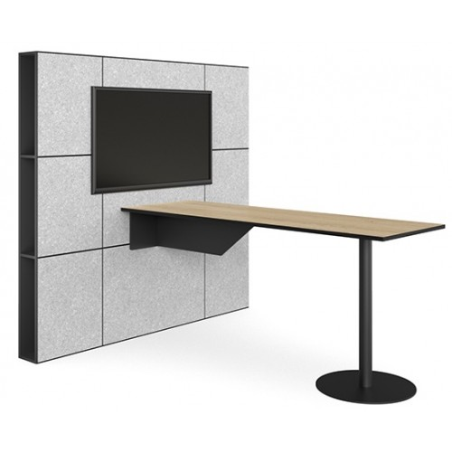 Multimedia Acoustic Wall Table