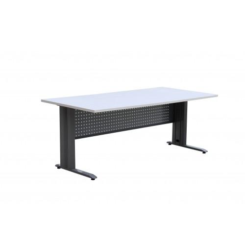Desk Modular Steel Leg System with Melamine Top