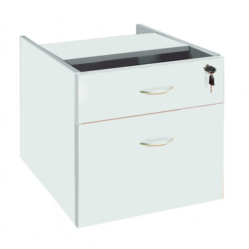 Desk Drawers -2 Drawers White
