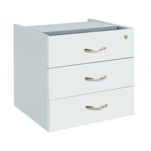 Desk Drawers -3 Drawers White