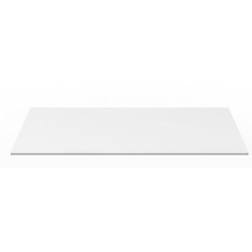 Desktop or Tabletop Natural White Plain