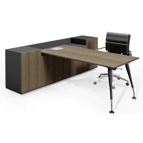 Two Tier Executive Storage Desk HUGE RANGE OF COLOURS AND LEG OPTIONS