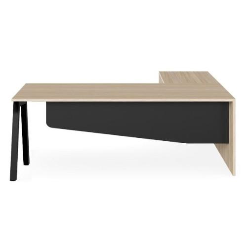 Vista Lite Executive Desk with Return
