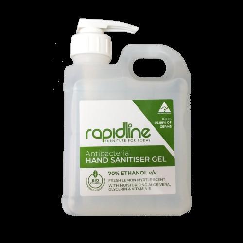 Rapid Hand Sanitiser CRUELTY FEE  Australian Made   (10 x 1 Litre Pack)