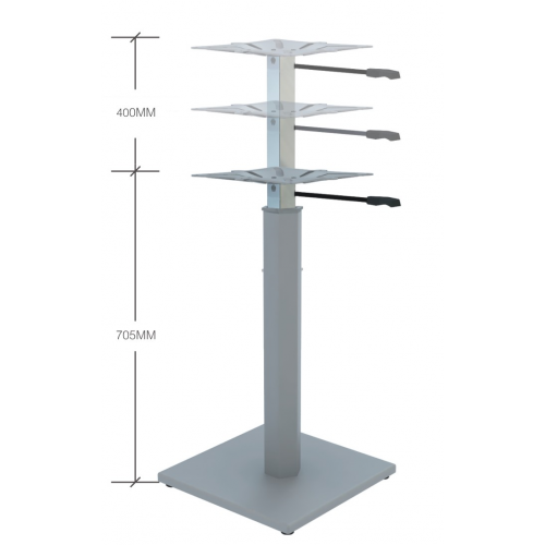 Meeting Table Base Height Adjustable (with optional tabletop)
