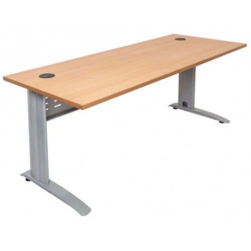 Rapid Span Desk - Beech Top with Choice of Bases