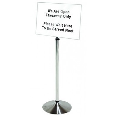 3 in 1 Notice Display Stand