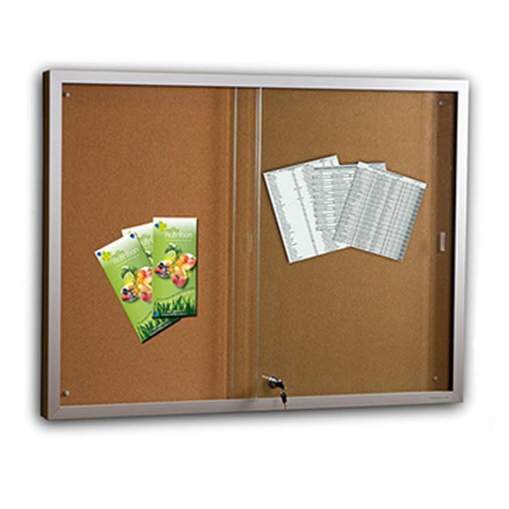 Sliding glass door display case cork for New sliding glass door