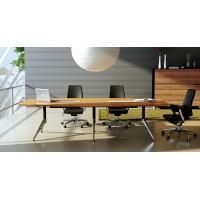 Novara  Boardroom Table 3m Zebrano
