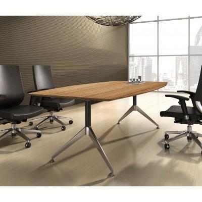Novara  Boardroom Table 2.4m Zebrano