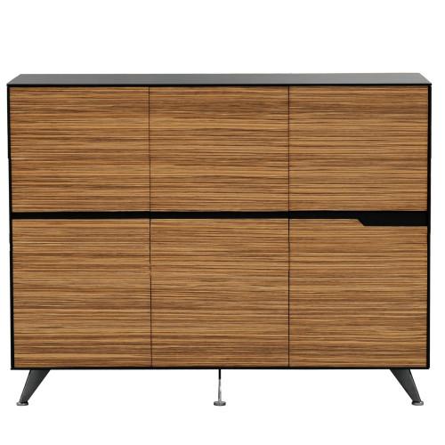 Novara Executive Cabinet 1800Wx1550H (6 Doors)