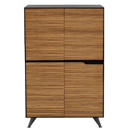 Novara Executive Cabinet - 1200W x 1750H  -  (4 Doors)