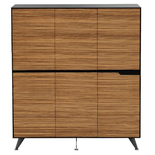 Novara Executive Cabinet  - 1800W x 1750H  -  (6 Doors)