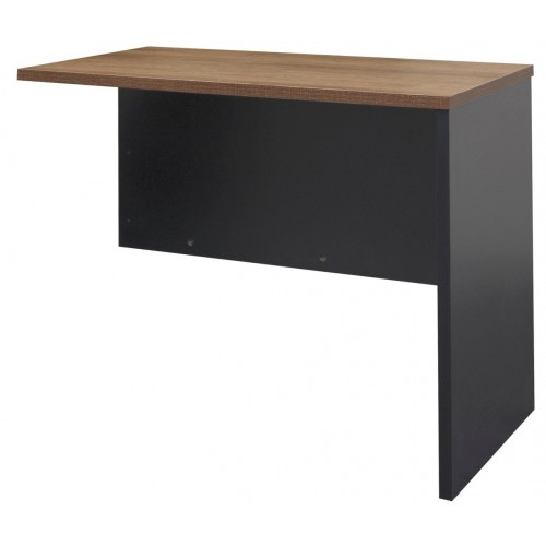 Desk Extension - Walnut and Graphite