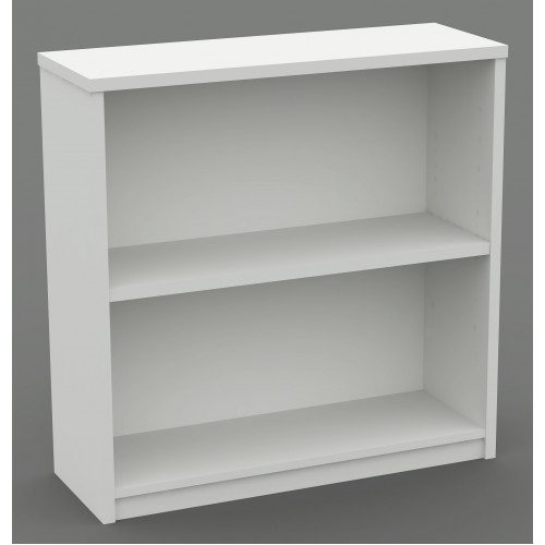 Bookcase in White - 900mm High