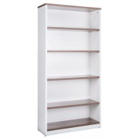 Bookcase in Sepia and White - 1800mm High