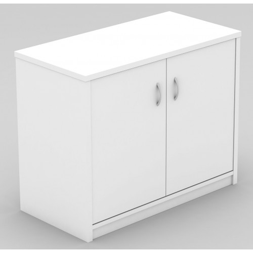 Stationery Cupboard Lockable in White