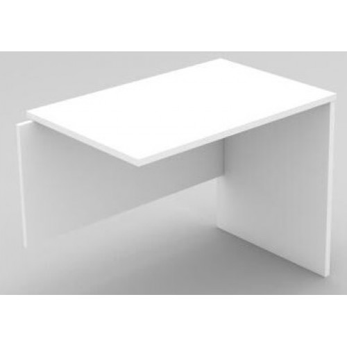Desk Extension - All White