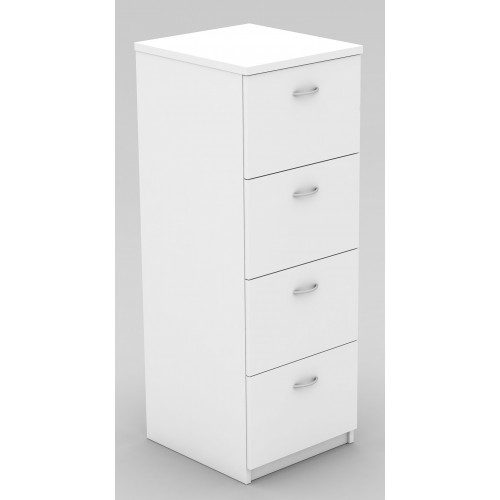 Filing Cabinet - 4 Drawer White