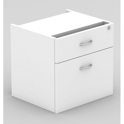 Desk Drawers -2 Drawers White