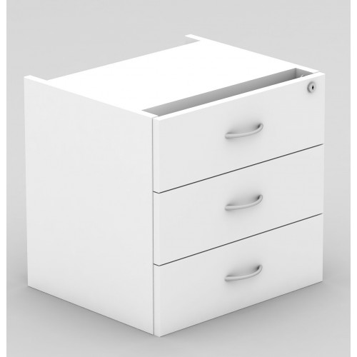 Desk Drawers -3 Drawers White