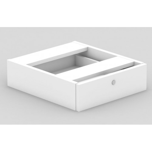 Desk Drawers -1 Drawer All White